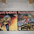 """Iron Maiden - Double 12"""" Maxi Run to the hills + The number of the beast Tape / Vinyl / CD / Recording etc"""