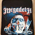 Megadeth 80s printed patch