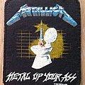 Metallica - Metal up your ass original printed patch