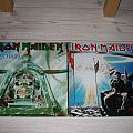"""Iron Maiden - Double 12"""" Maxi Two minutes to midnight + Aces High Tape / Vinyl / CD / Recording etc"""