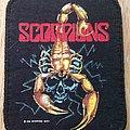 Scorpions original printed patch