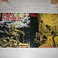 "Iron Maiden - Double 12"" Maxi Running free + Sanctuary Tape / Vinyl / CD / Recording etc"
