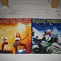 "Iron Maiden - Double 12"" Phantom of the opera + Running free (live)  Tape / Vinyl / CD / Recording etc"