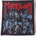 Manowar - Fighting the world woven Patch