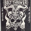 Bolt Thrower Asphyx Cemetary Tour Poster Other Collectable