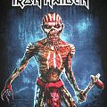 Iron Maiden Book of Souls tour tee TShirt or Longsleeve
