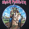 Iron Maiden UK tour shirt
