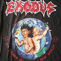 Exodus Bonded By Blood 2015 shirt