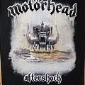 Motörhead Aftershock Backpatch
