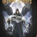 Grave Digger Healed By Metal tour shirt