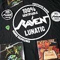 Raven Kickstarter backer pack TShirt or Longsleeve
