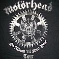 Motörhead 2011 tour shirt