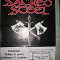 Sacred Steel - Other Collectable - Sacred Steel gig poster