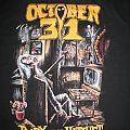 October 31 Bury the Hatchet tee TShirt or Longsleeve
