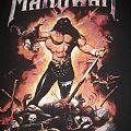 Manowar Warriors Of The World tour shirt