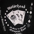 Motörhead No Sleep to Moscow tour shirt