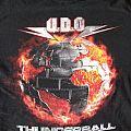 TShirt or Longsleeve - UDO Thunderball tour shirt