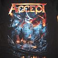 Accept The Rise of Chaos tour shirt