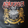 Saxon tour shirt