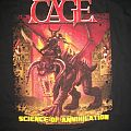 Cage - TShirt or Longsleeve - Cage Science of Annihilation shirt