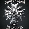 Motörhead Bad Magic tour shirt