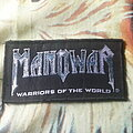 Manowar - Patch - Manowar warriors of the world logo patch