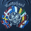 Motörhead Bastards Over Europe tour shirt