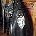 Taake + Burzum painted leather Battle Jacket