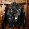 Malsaint / KPN painted leather Battle Jacket