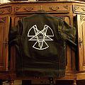 Enlightenment Process (Impaled Nazarene painted leather) Battle Jacket