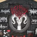 4 backpatches black metal terror