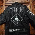 No remorse (Revenge painted leather) Battle Jacket