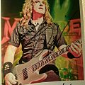 Megadeth - Other Collectable - Signed Picture Dave Ellefson