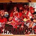 Carnivore - Signed Concert Poster By All Other Collectable