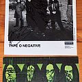 Type O Negative - 2 promo items signed by each member of TON Other Collectable