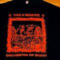 Type O Negative - rare Black/Orange Orchestra Of Death shirt