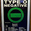 Type O Negative - German 1991 Concert Poster with signed ticket Other Collectable