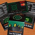 Type O Negative - 3 Promo Condoms and Loyalty Credit card Other Collectable