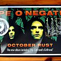 Type O Negative - October Rust Promo Poster With Signed October Rust Booklet And Signed MGG CD Single Tape / Vinyl / CD / Recording etc