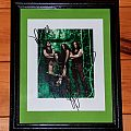 Type O Negative - framed signed photo Other Collectable