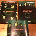 Type O Negative - 3 Original Roadrunner German Promo Posters
