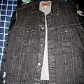 Battle Jacket - Black Denim Jacket for Sale (Brand new!)