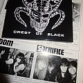 """Other Collectable - Sacrifice """"Crest Of Black"""" CD reissue"""