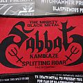Sabbat Kamikaze Splitting Roar patch