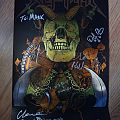 """Other Collectable - Skeletonwitch """"Forever Abomination"""" poster signed"""