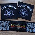 Cutthroat / Bolt Thrower patch