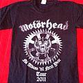 Motörhead - TShirt or Longsleeve - Motörhead 2011 tour shirt