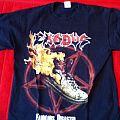 Exodus - TShirt or Longsleeve - Exodus Fabulous Disaster thrashfest 2011 tour
