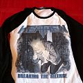 Heathen - Breaking the silence baseball shirt Thrashfest tour