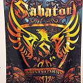 Other Collectable - Signed Sabaton - Coat Of Arms flag